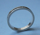 Georg Jensen Sterling Band Ring