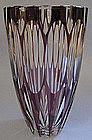 European Cased-Glass Vase, c. 1960