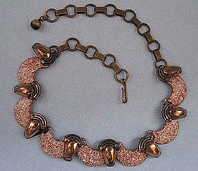 Matisse Copper and Enamel Necklace, c. 1955