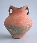 Fine Chinese Neolithic / Bronze Age Pottery Jar - Siwa