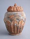 Chinese Song / Yuan Dynasty Buddhist Lotus Jar