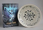 Vietnamese 15th Century Blue & White Dish (with book)