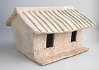 LARGE Chinese Han Dynasty Pottery Farm House + TL Test