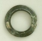 Rare Thai Black Jade (Nephrite) Bracelet from Ban Na Di Ca. 600-400 BC