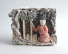 Fine Chinese Ming Dynasty Painted Pottery Tile + TL Test (Meng Zong)