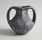 Chinese Han Dynasty Pottery Amphora