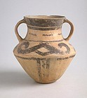 Rare Chinese Neolithic Xindian Culture Pottery Jar (c. 1200 - 500 BC)