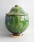 Fine Large Chinese Song / Yuan Dynasty Glazed Buddhist Jar