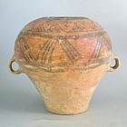 Large Chinese Neolithic Machang Pottery Jar with Oxford TL Test