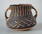 Chinese Neolithic Machang Phase Painted Jar