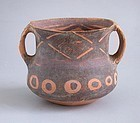 Chinese Neolithic Machang Painted Pottery Jar