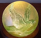 Orient & Flume Engraved Paperweight signed Richter