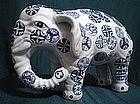 18th Century Arita Elephant