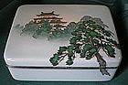 Signed Ando Jubei Japanese Cloisonne Box