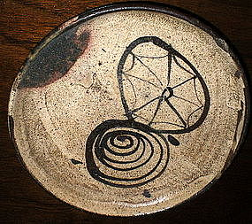 Ko Seto Umanome and Cobweb Small Dish
