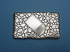 Whiting trompe l'oeil card case ,