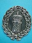 large and bold Mermod Jaccard wreath pin circa 1870,