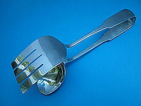 Old Newbury Crafters MOULTON salad serving tongs