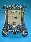 Gorham Art Nouveau desk calendar model B2337