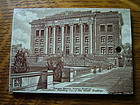 Wedgwood calendar tile, Harvard Medical School