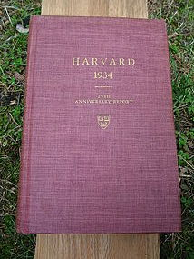 Harvard class of 1934 25th anniversary report