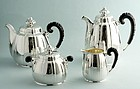 Bruckmann Silver Secession Tea Set
