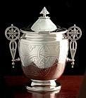 Victorian Celtic Design Biscuit Barrel