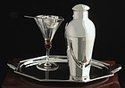 Belgian Art Deco Cocktail Shaker