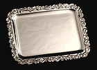 French Art Nouveau Silver Card Tray
