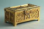 Art Nouveau Gilt Bronze Box