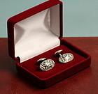 Art Nouveau Silver Cufflinks