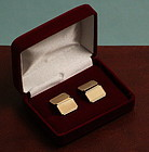 Art Deco Hallmarked Gold Cufflinks