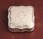Antique Dutch Silver Snuff Box