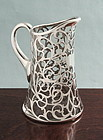 Silver Overlay Pitcher