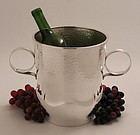 WMF Hammered Art Deco Wine Cooler