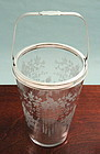 Hawkes Crystal and Silver Ice Cooler