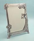 WMF Art Nouveau Figural Maiden Mirror