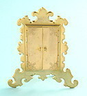 Victorian Bronze Chippendale Style Frame