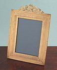 Antique Gilt Bronze Frame