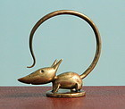 Hagenauer Bronze Mouse Seal