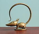 Hagenauer Bronze Mouse Seal