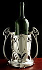WMF Tall Art Nouveau Wine Bottle Stand