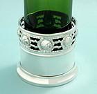 Argentor Art Nouveau Wine Bottle Stand
