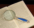 Silver and Enamel Magnifier