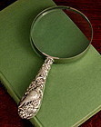 Silver Victorian Birds Magnifier