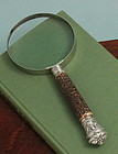 Silver and Staghorn Magnifier