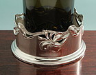 Wilhelm Binder Art Nouveau Silver Bottle Stand