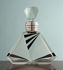 Art Deco Enamel Decanter