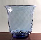 Steuben French Blue Vase