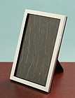 Classic English Silver Photo Frame